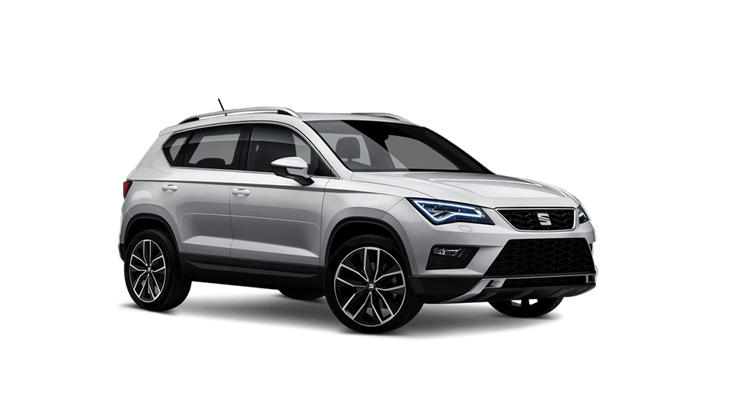 seat ateca 4d weiss 2016