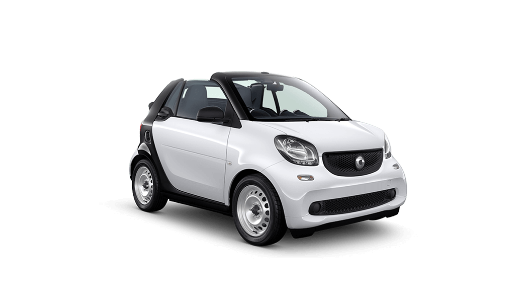 smart for two cabrio weiss offen 2016