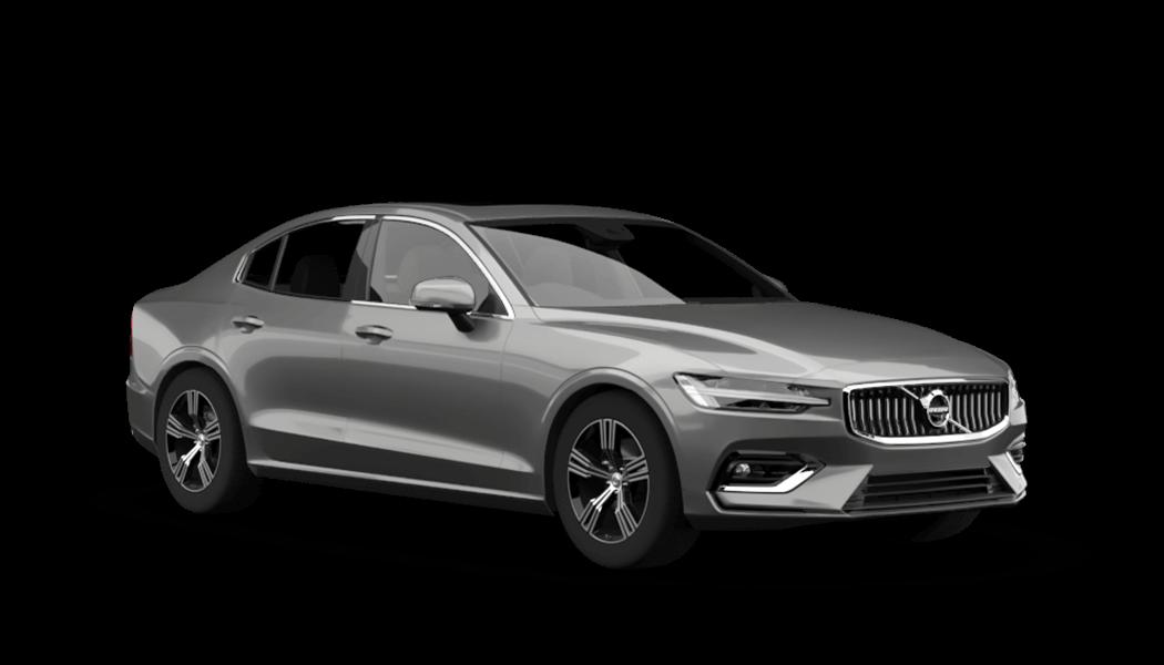 volvo s60 4d schwarz 2020