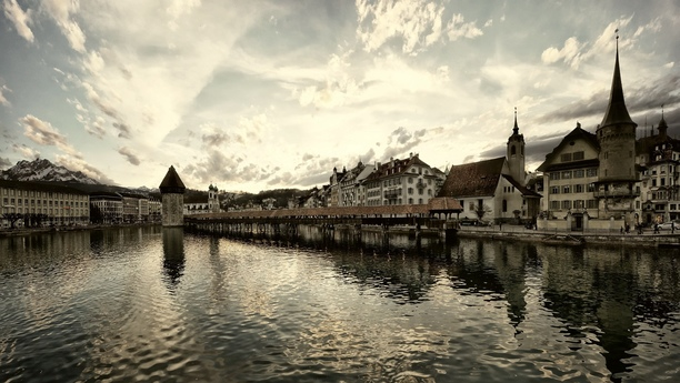 The winter wonderland of Lucerne with car hire