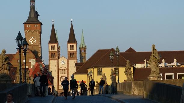 Les charmes de Wurtzbourg
