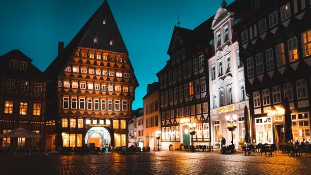 Bischofssitz und Universitätsstadt Hildesheim