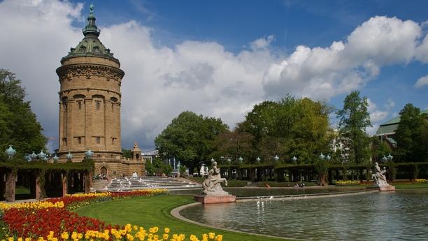 Die Stadt am Neckar - Quadratisch, praktisch, gut