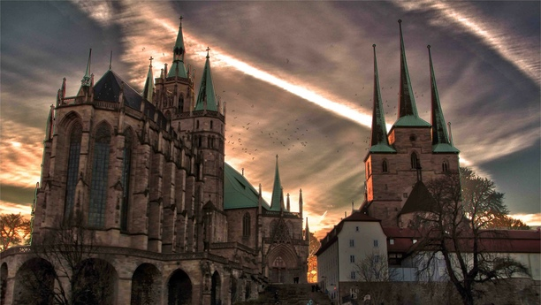 Willkommen in Erfurt, der Landeshauptstadt des Freistaates Thüringen