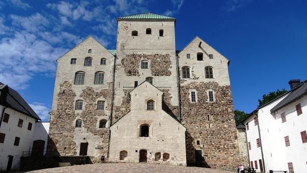 Turku, an der Südwestküste Finnlands