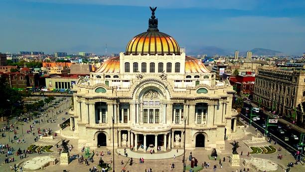 Willkommen in der Hauptstadt Mexikos