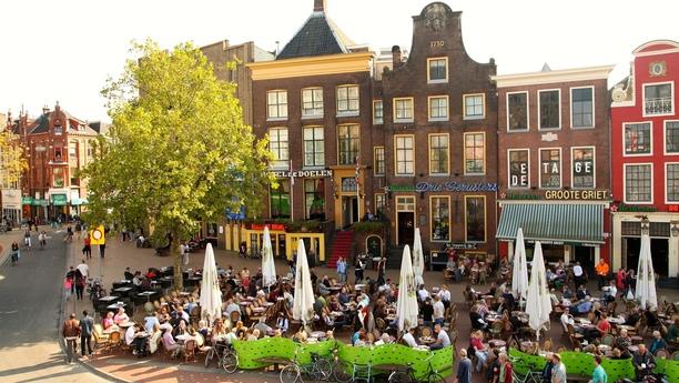 Herzlich Willkommen in Groningen in den Niederlanden