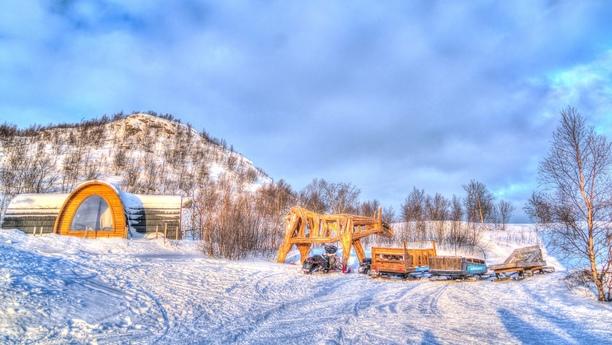 Herzlich willkommen in Hesseng im äußersten Norden Norwegens
