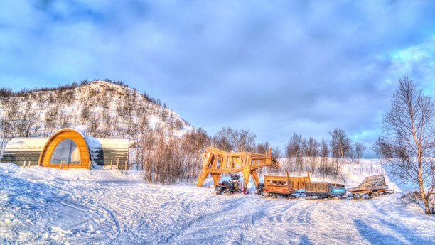 Car hire at Kirkenes Airport, Norway