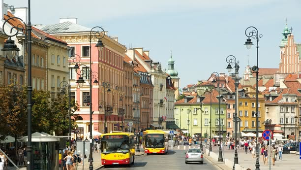 Car Hire in Warsaw with Sixt rent a car