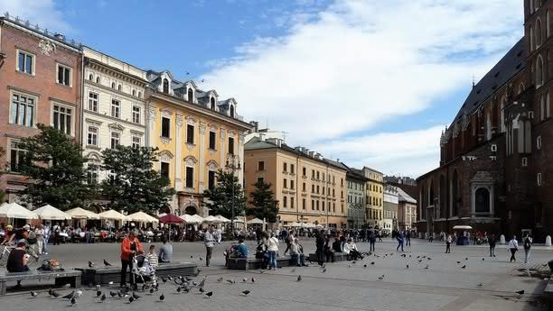 Besuchen Sie Krakau, das polnische Florenz