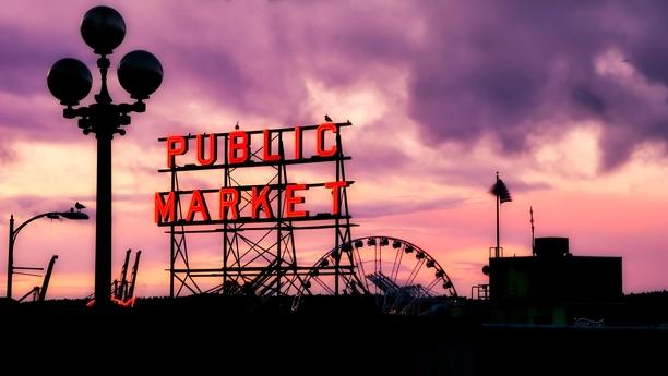 Willkommen in Downtown Seattle