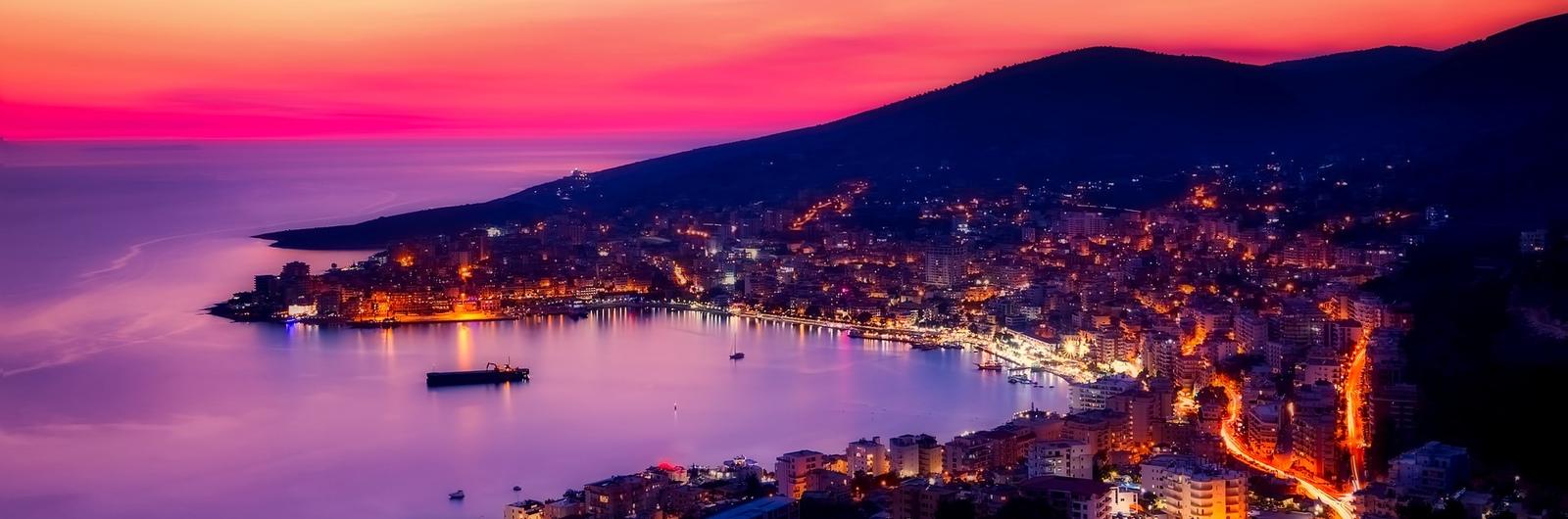 albania country header