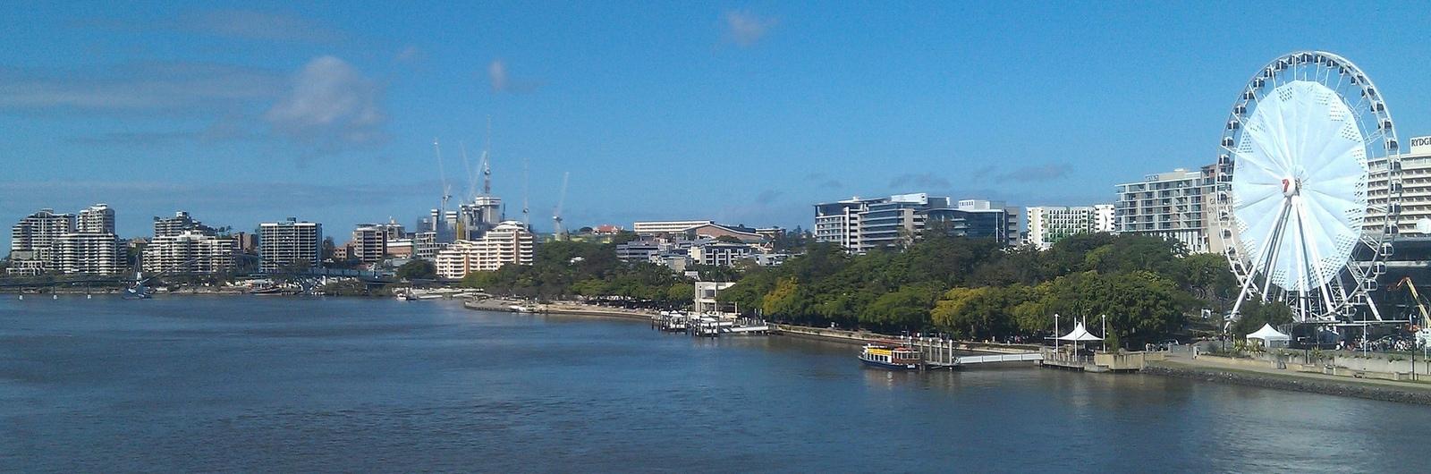 australia brisbane city header