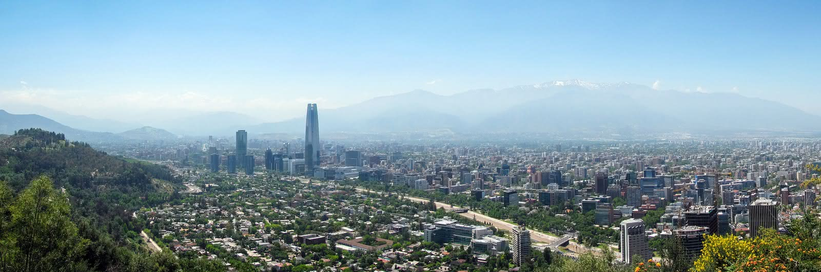 santiago chile header