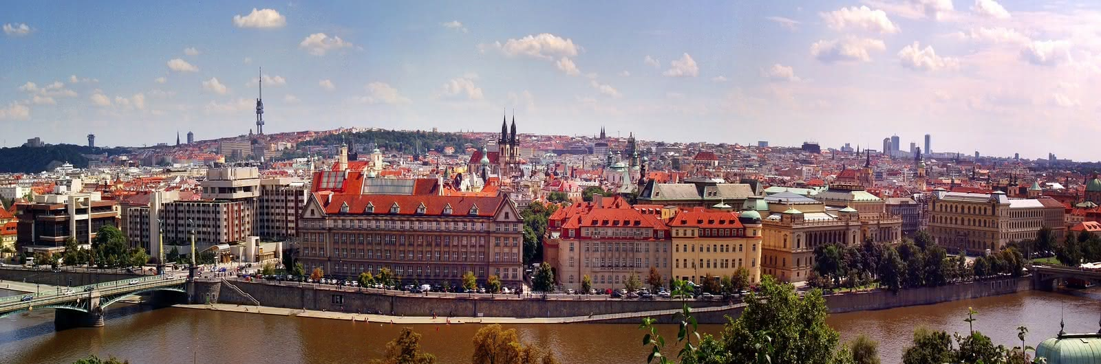 prague city header