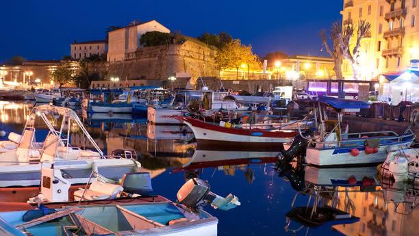 ajaccio city content