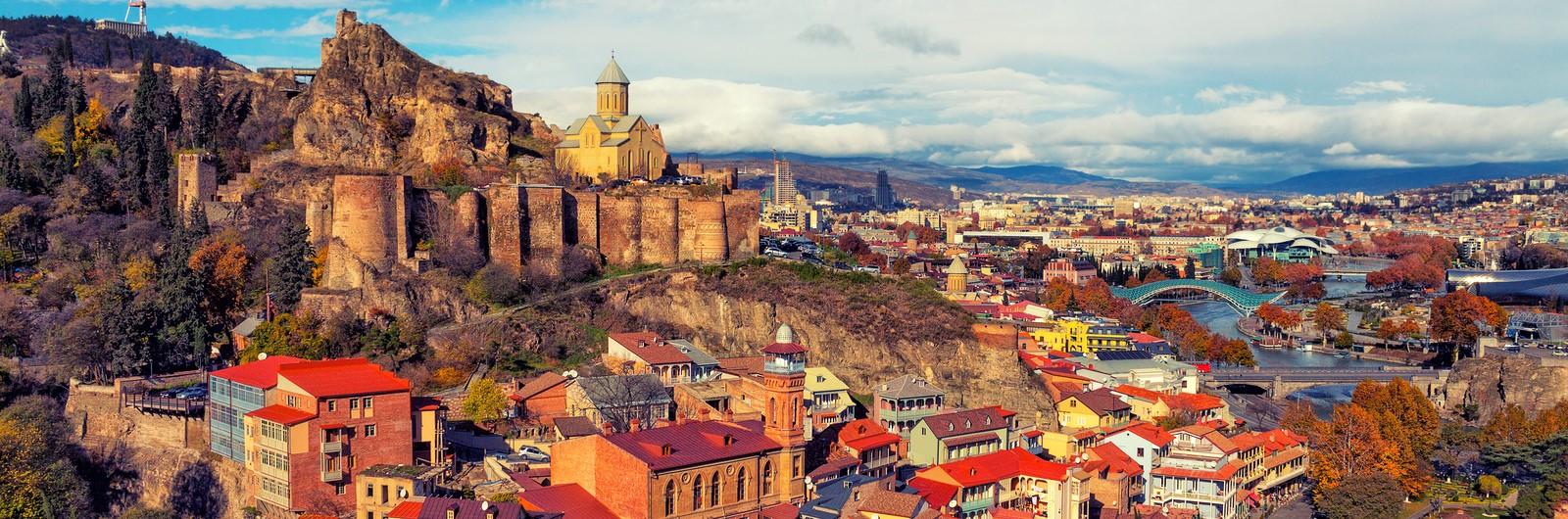 tbilisi city header