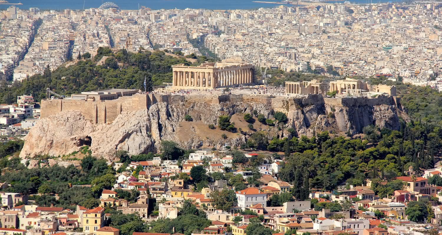 athens city header