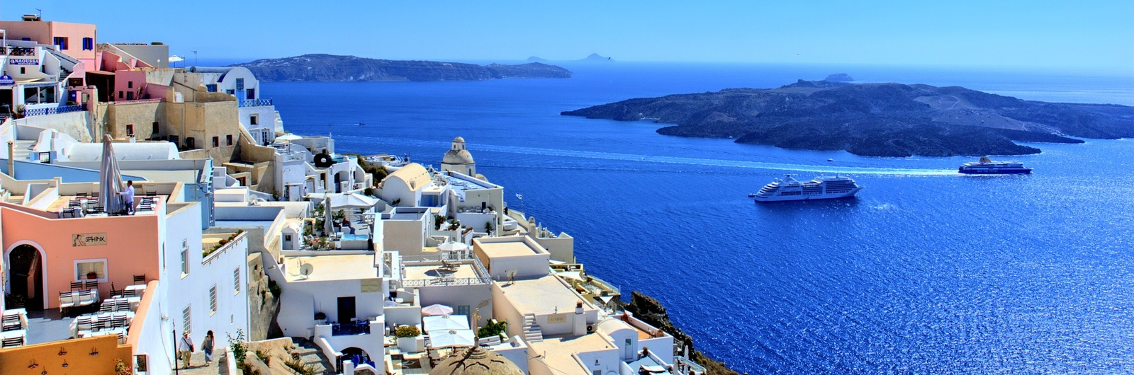 santorini city header