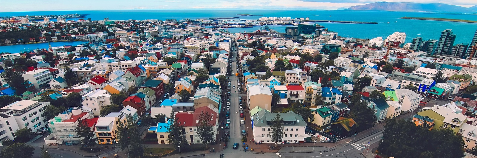 reykjavik city header