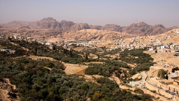 jordan country side