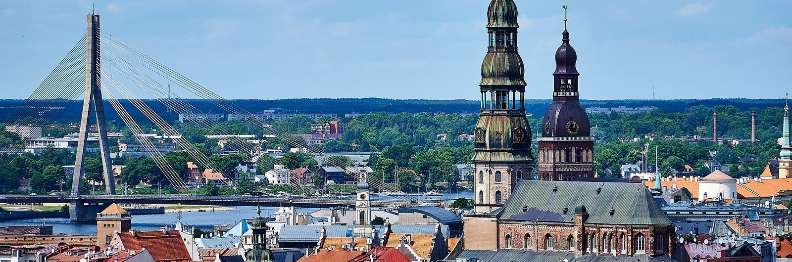 riga city header