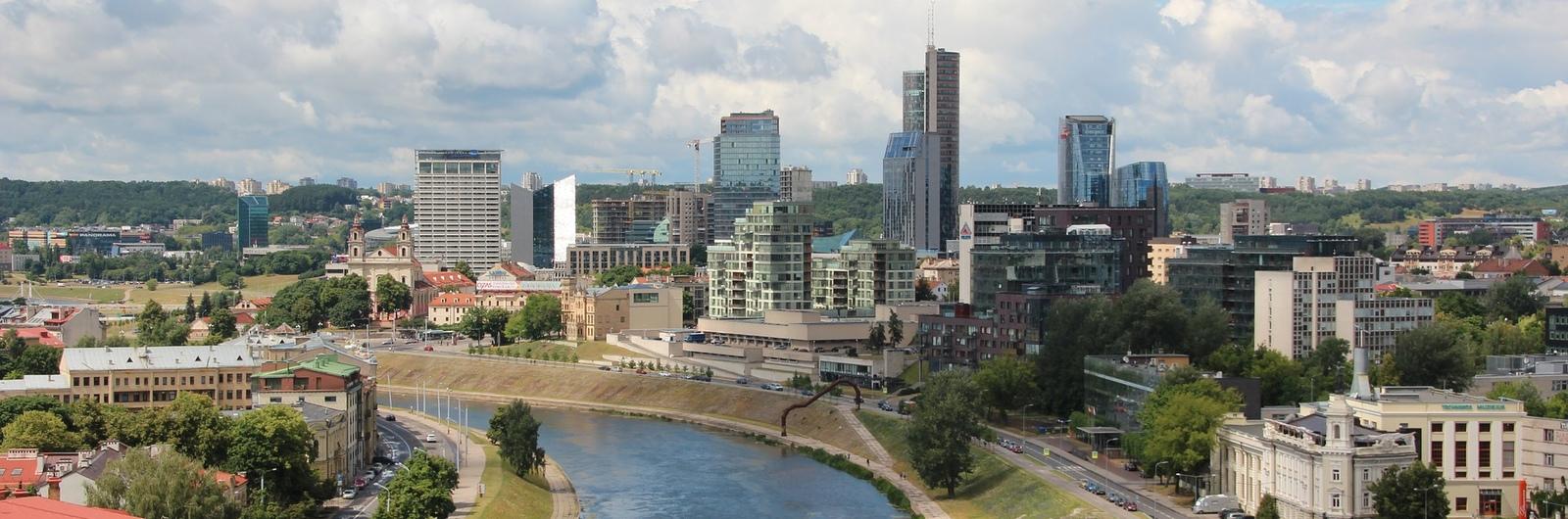 vilnius city header