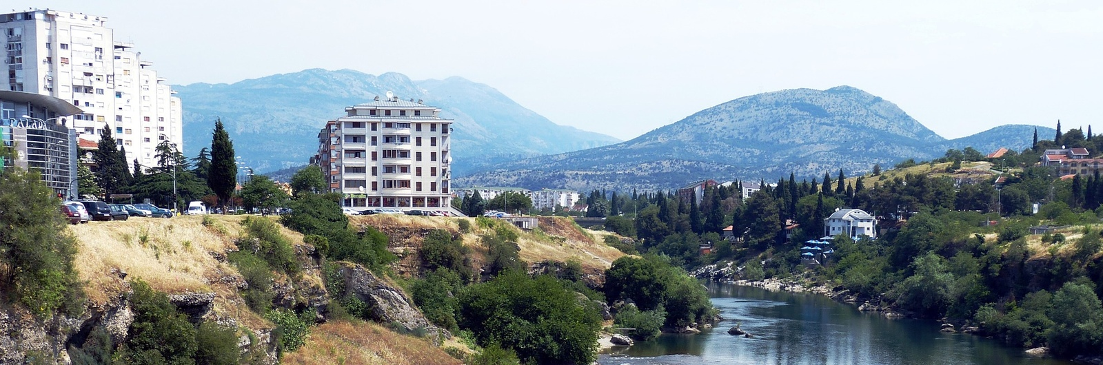 podgorica city header
