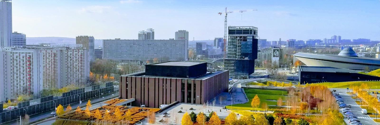 katowice city header