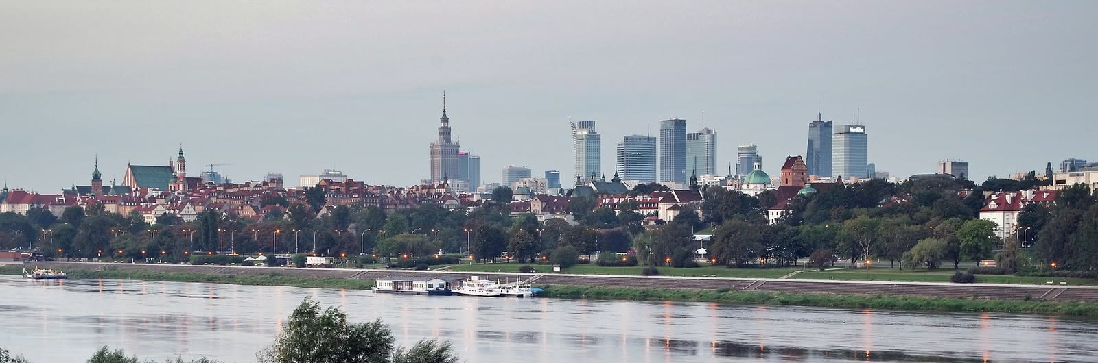 warsaw city header
