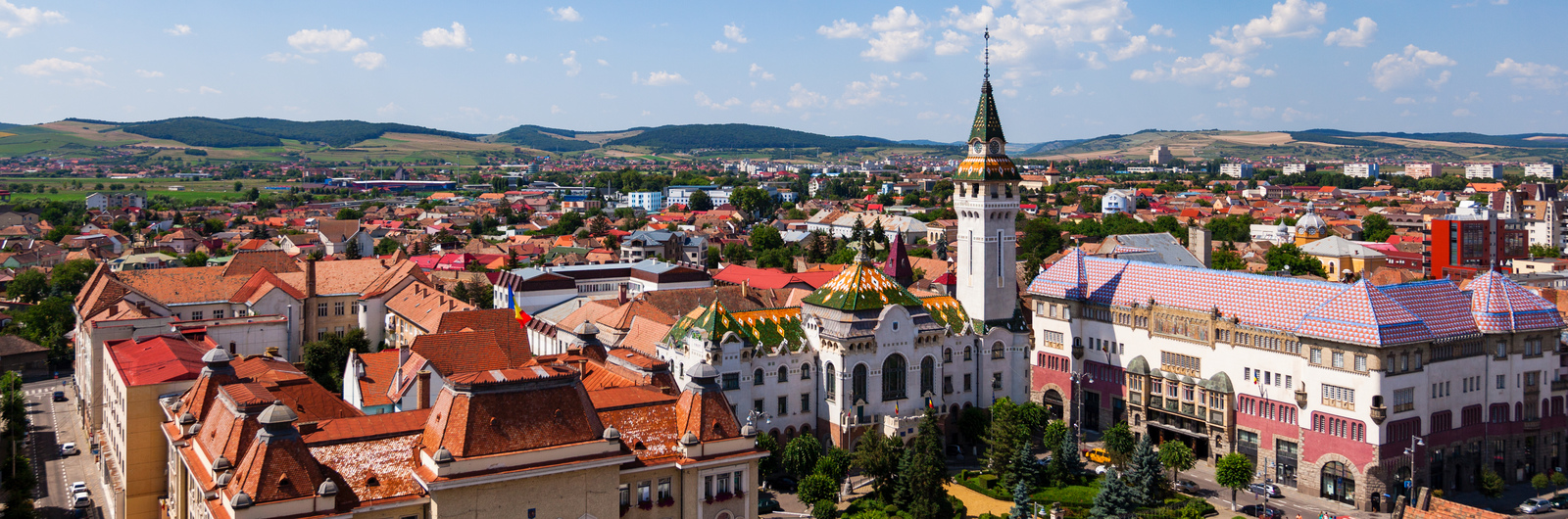 targu mures city header