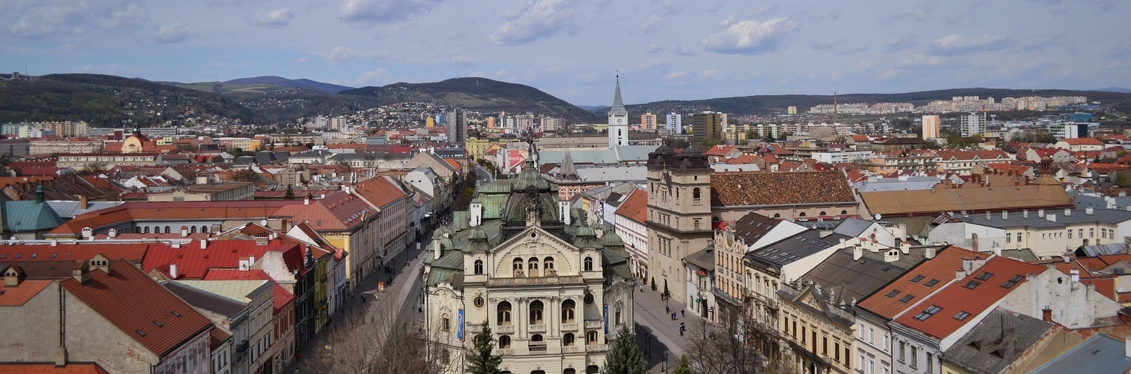 kosice city header