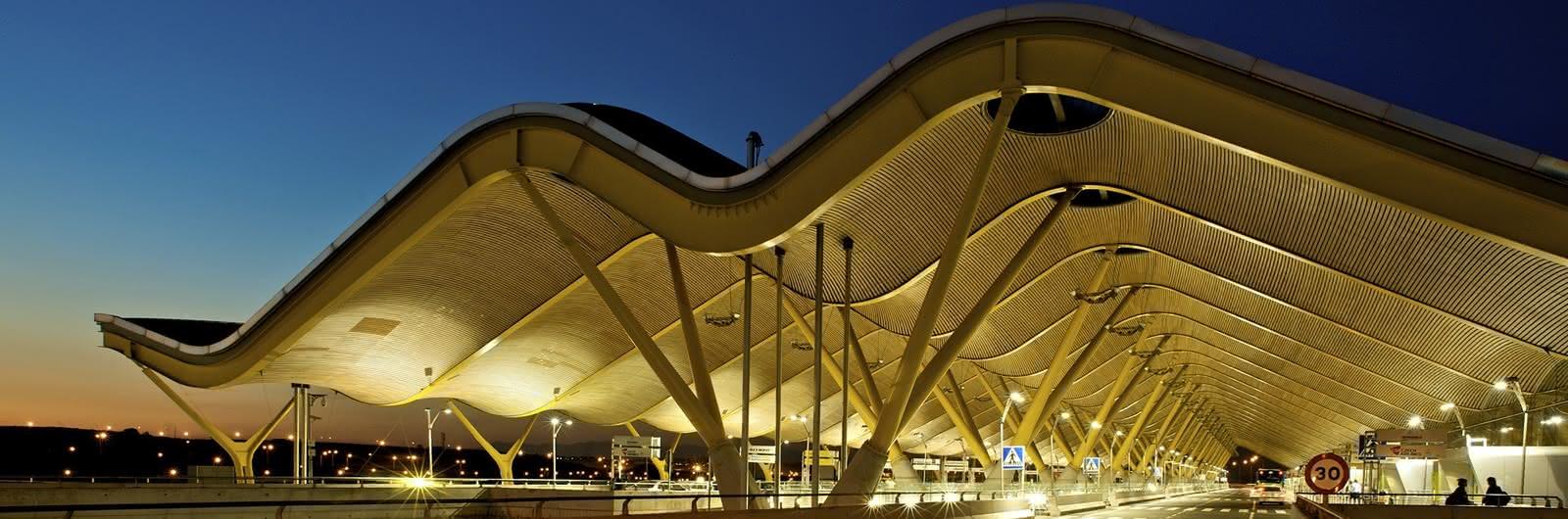 madrid airport header