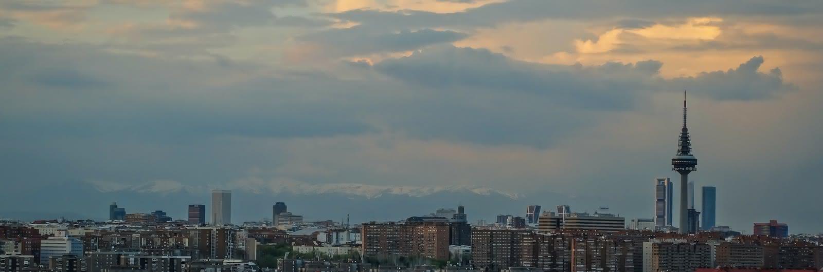 madrid city header