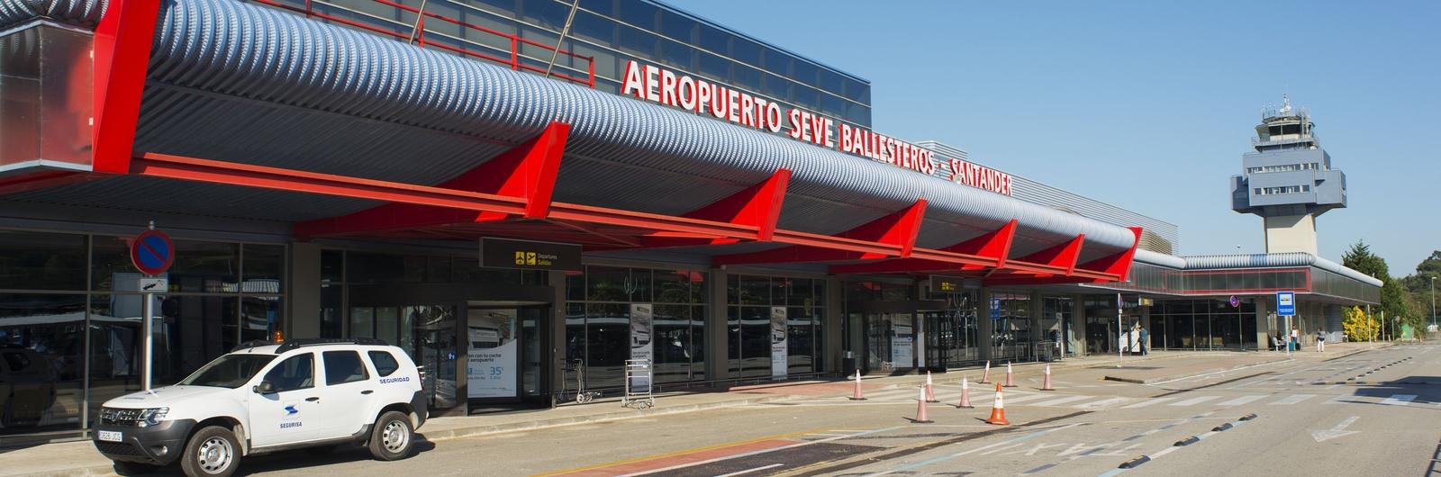 santander airport header