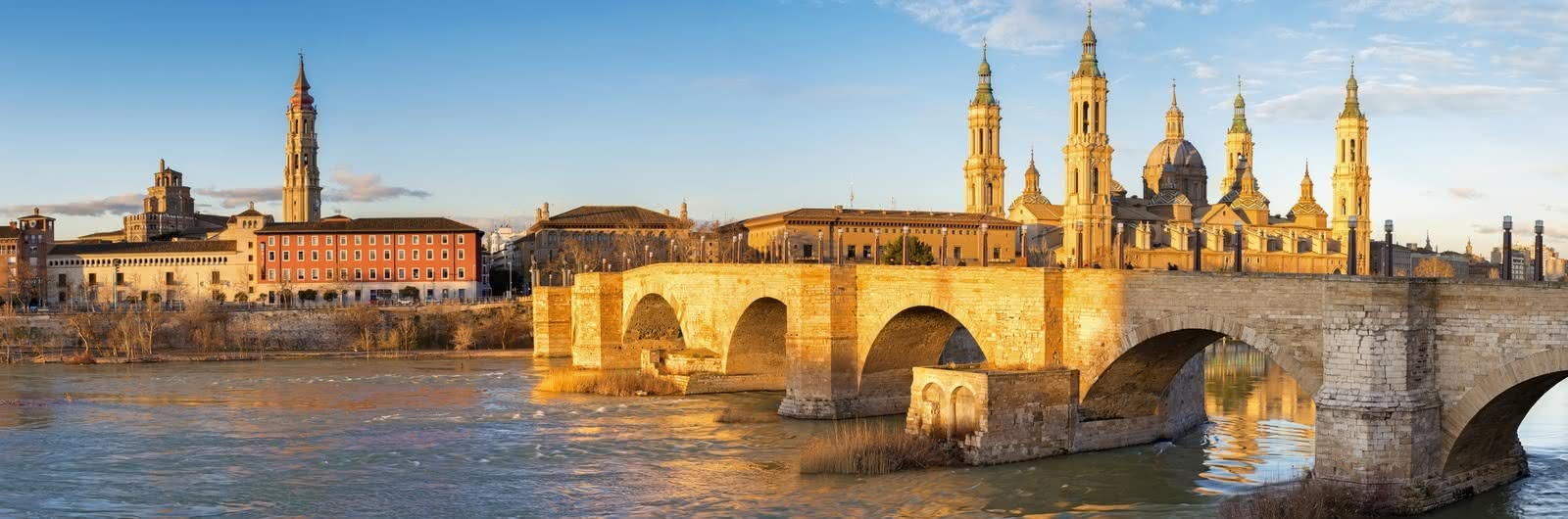 zaragoza city header