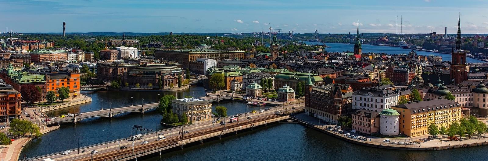 stockholm city header