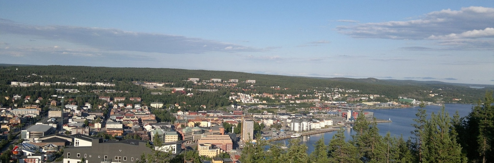 umea city header