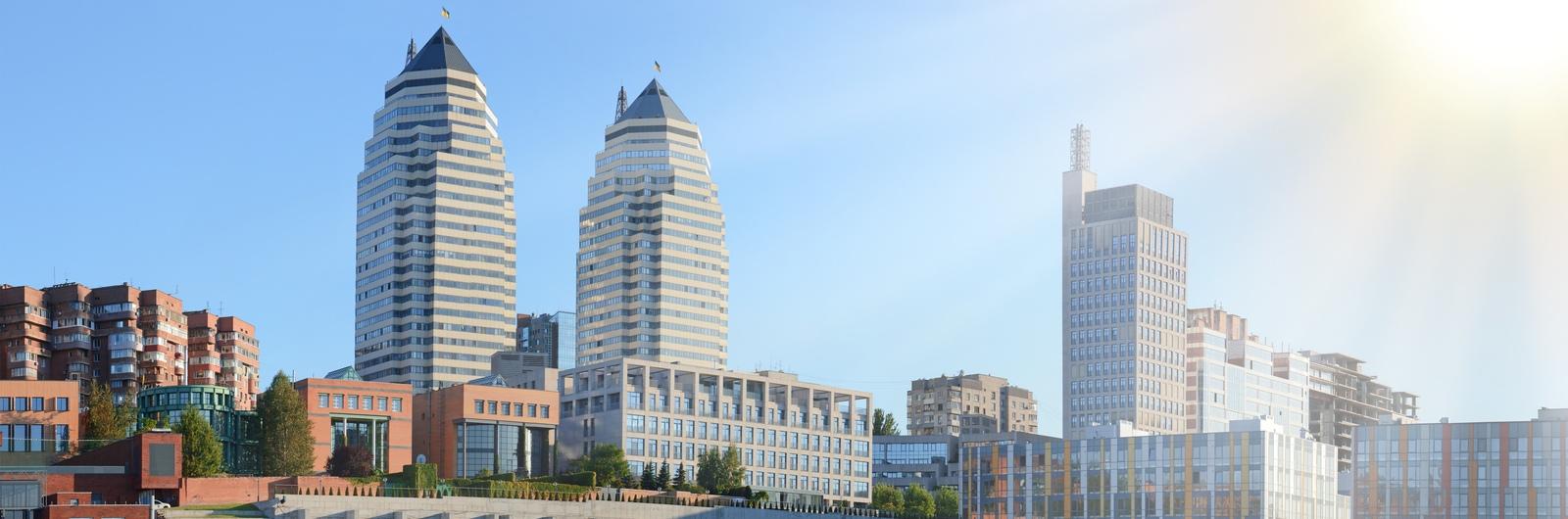 dnipro city header