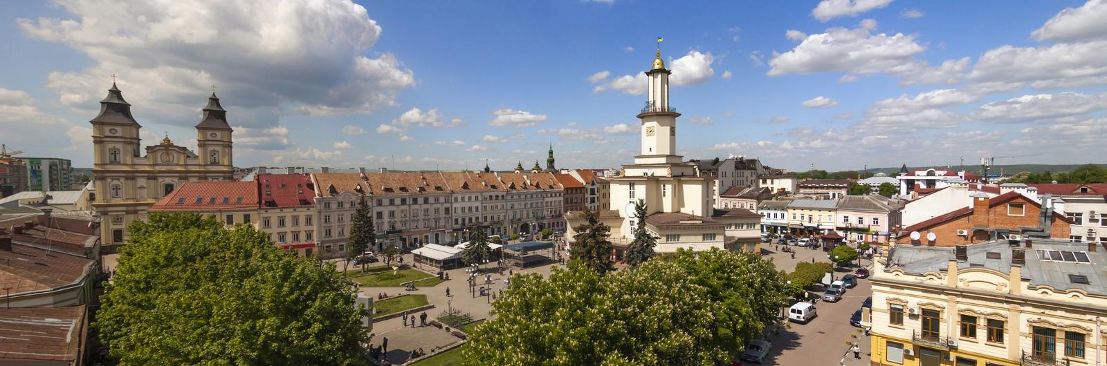 ivano frankivsk city header