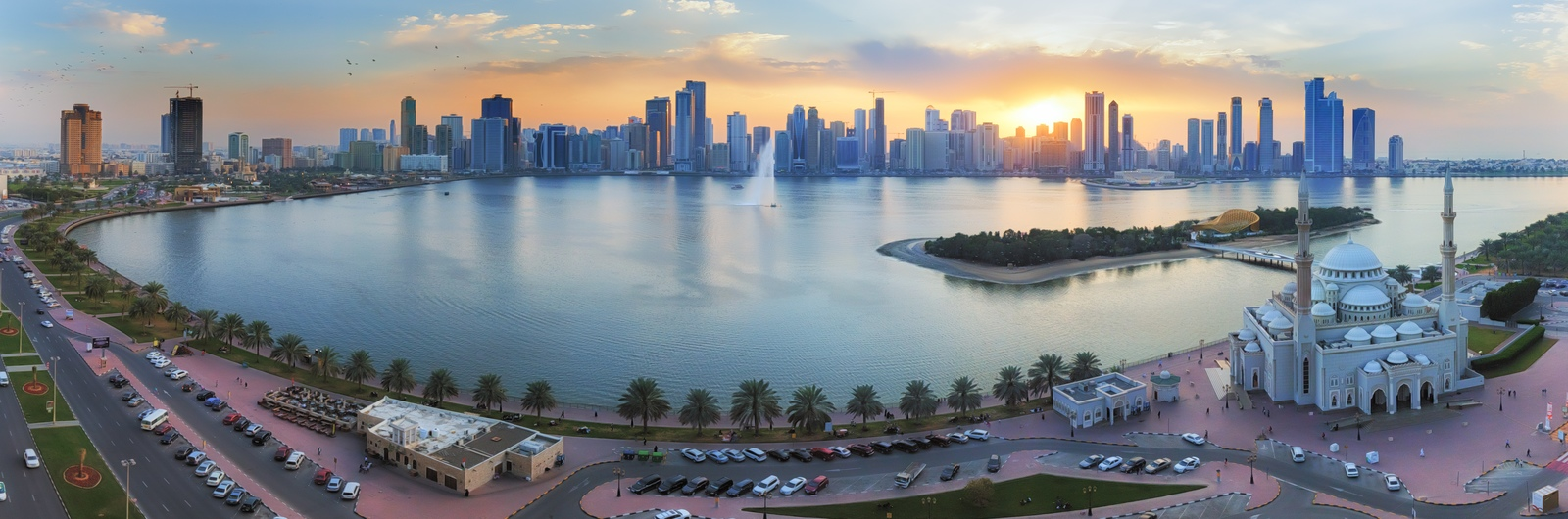sharjah city header