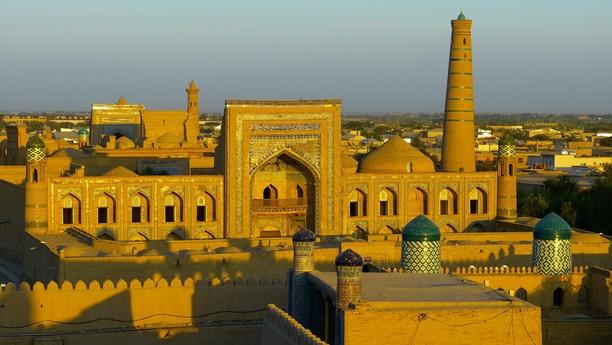 uzbekistan country side