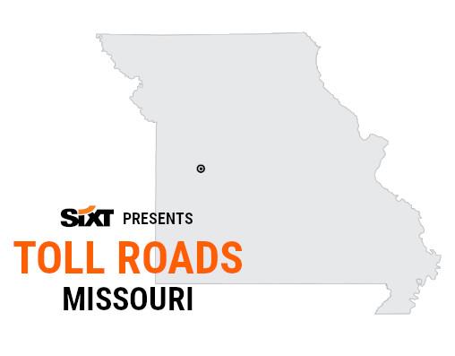 Missouri Toll Roads Map NEW