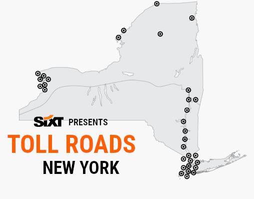 NY Toll Roads Map NEW