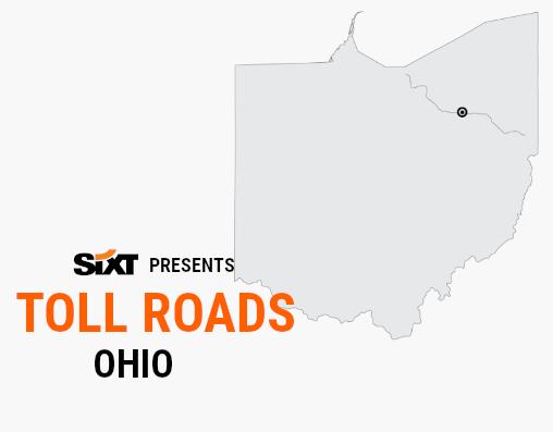 OHIO Toll Roads Map NEW