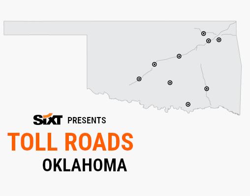 OKLAHOMA Toll Roads Map NEW