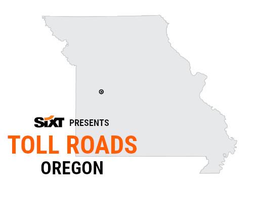 Oregon Toll Roads Map NEW