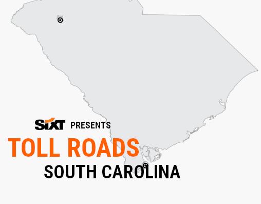 SC Toll Roads Map NEW