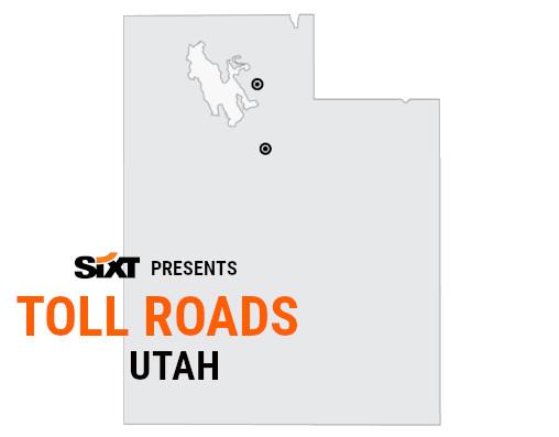 Utah Toll Roads Map NEW